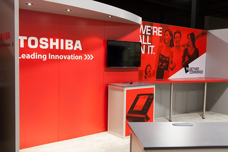 Toshiba Trade Show Booth